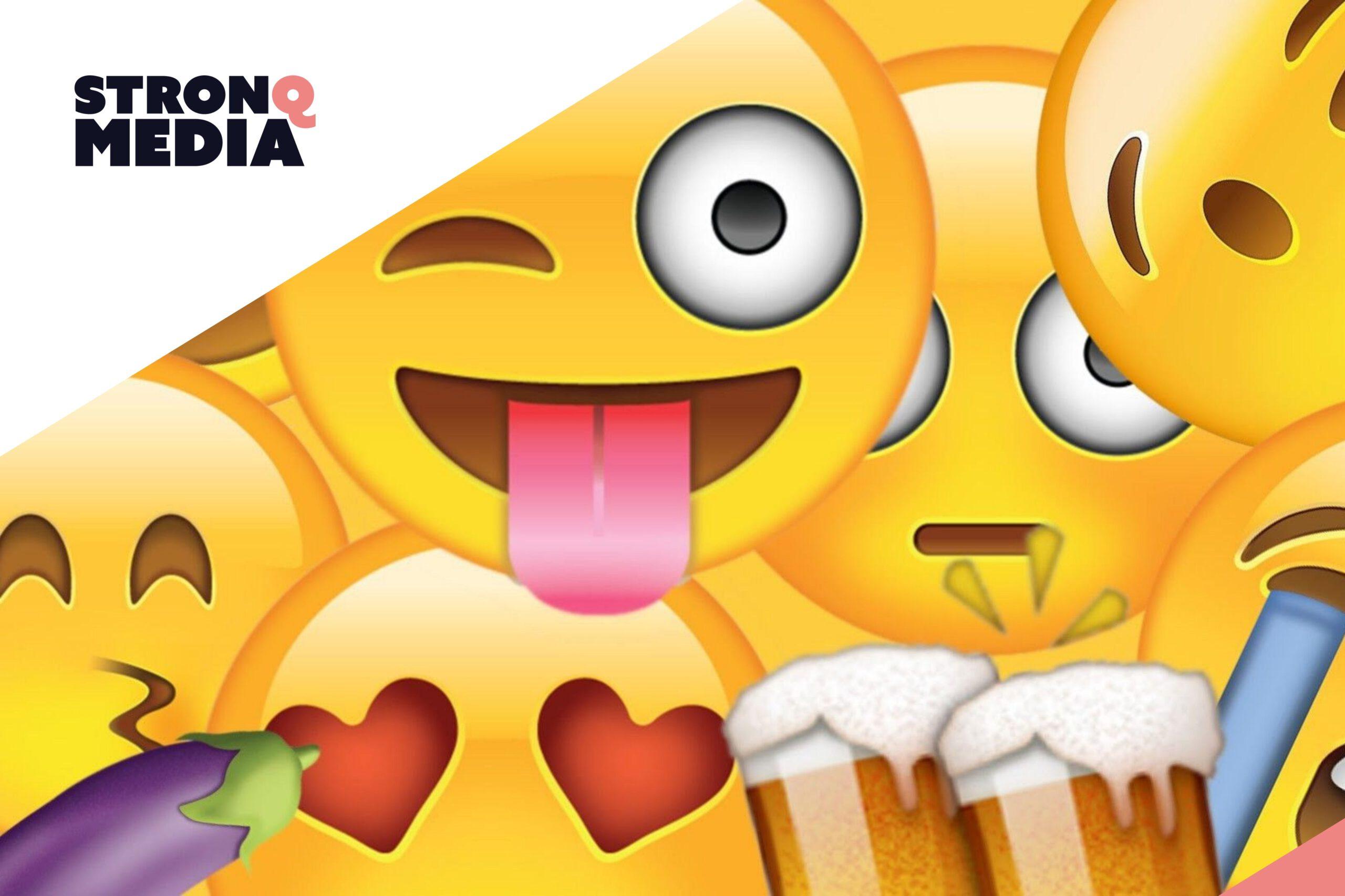 Emoji Social Media Advertenties